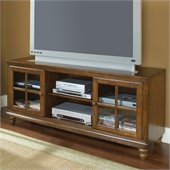 Hillsdale Grand Bay 61 Entertainment Console in Warm Brown