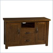 Hillsdale Outback TV Console in Distressed Chestnut