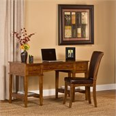 Hillsdale Gresham Desk And Chair in Medium Oak