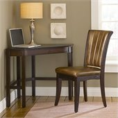 Hillsdale Solano Corner Desk And Chair in Cherry