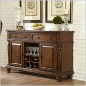 Hillsdale Woodridge Server in Walnut