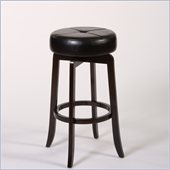 Hillsdale Rhodes 26 Backless Counter Stool in Walnut