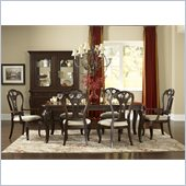 Hillsdale Grandover Dining Set in Dark Cherry
