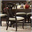 ADD TO YOUR SET: Hillsdale Grandover Dining Chair in Dark Cherry (set of 2)
