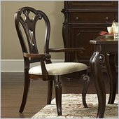 Hillsdale Grandover Arm Chair in Dark Cherry (set of 2)