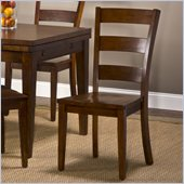 Hillsdale Harrods Creek Ladder Back Dining Chairs in Oak (set of 2)