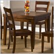 ADD TO YOUR SET: Hillsdale Harrods Creek Square Gathering Table With Drop Leaf in Oak