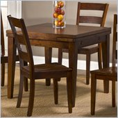 Hillsdale Harrods Creek Square Gathering Table With Drop Leaf in Oak