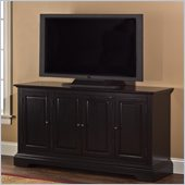 Hillsdale Maison Four Door Entertainment Console in Black