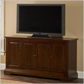 Hillsdale Maison Four Door Entertainment Console in Cherry