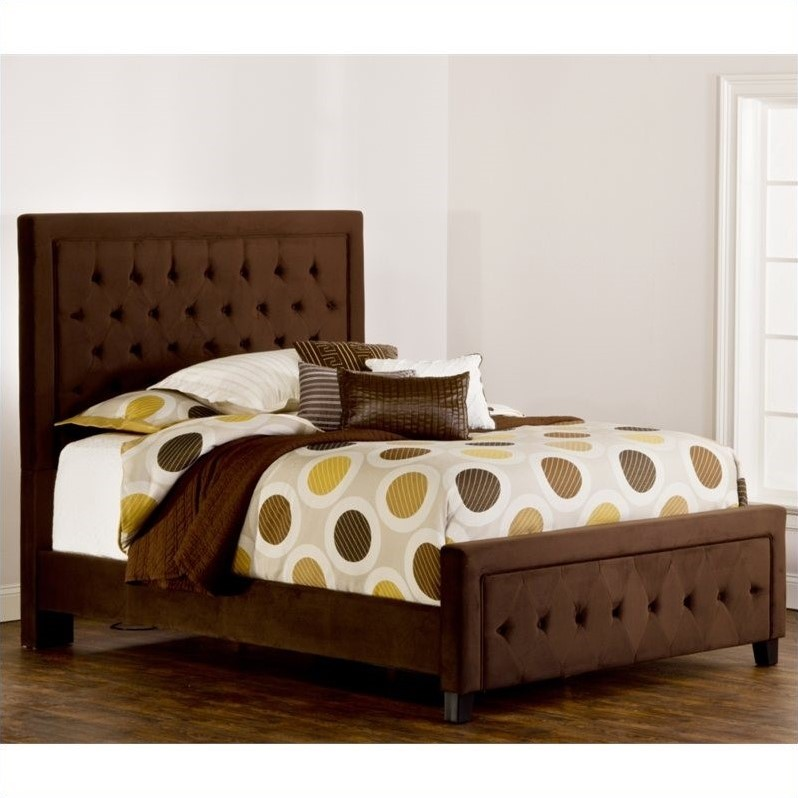 Hillsdale Kaylie Bed in Chocolate-Queen