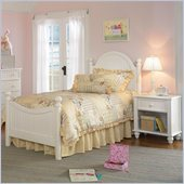 Hillsdale Westfield Poster Bed 3 Piece Bedroom Set in Off-White