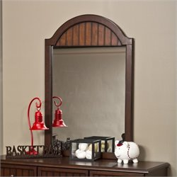 Hillsdale Westfield Mirror in Espresso Finish