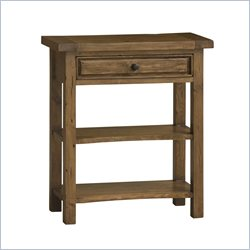 Hillsdale Tuscan Retreat Single Drawer Console Table in Antique Pine
