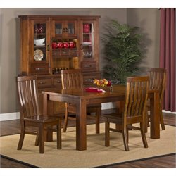 Hillsdale Outback 5 Piece Dining Set in Distressed Chestnut
