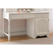Hillsdale Westfield Wood Desk in Off White
