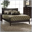 ADD TO YOUR SET: Hillsdale Tiburon Bentwood Modern Platform Bed in Espresso Finish