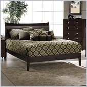 Hillsdale Tiburon Bentwood Modern Platform Bed in Espresso Finish