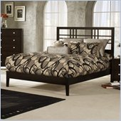 Hillsdale Tiburon Kona Platform Bed in Espresso Finish