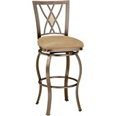 Hillsdale Brookside 24 Inch Counter Height Swivel Bar Stool