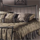 Hillsdale Edgewood Metal Headboard in Magnesium Pewter Finish