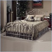 Hillsdale Mableton Metal Poster Bed in Brushed Silver Finish