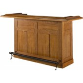 Hillsdale Classic Oak Large Home Bar Unit