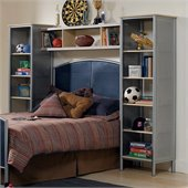 Hillsdale Universal Youth Wall Storage Unit in Silver
