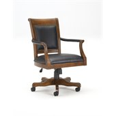 Hillsdale Kingston Leather Back Game Chair