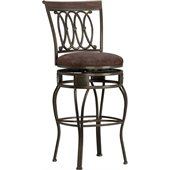 Hillsdale Montello 32 Inch Swivel Bar Stool in Antique Finish