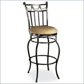 Hillsdale Camelot II 26 Inch Counter Height Swivel Bar Stool