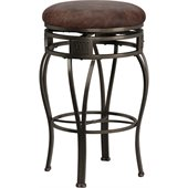 Hillsdale Montello 30 Inch Faux Leather Swivel Bar Stool