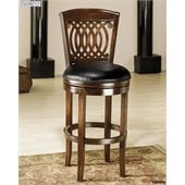 Hillsdale Vienna 24 Inch Swivel Counter Height Stool