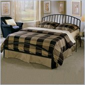 Hillsdale Old Towne Black Metal Sleigh Bed