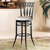 Hillsdale Hudson 26 Inch Counter Height Swivel Bar Stool