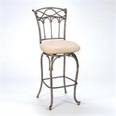Hillsdale Kendall 30 Inch Memory Swivel Bar Stool