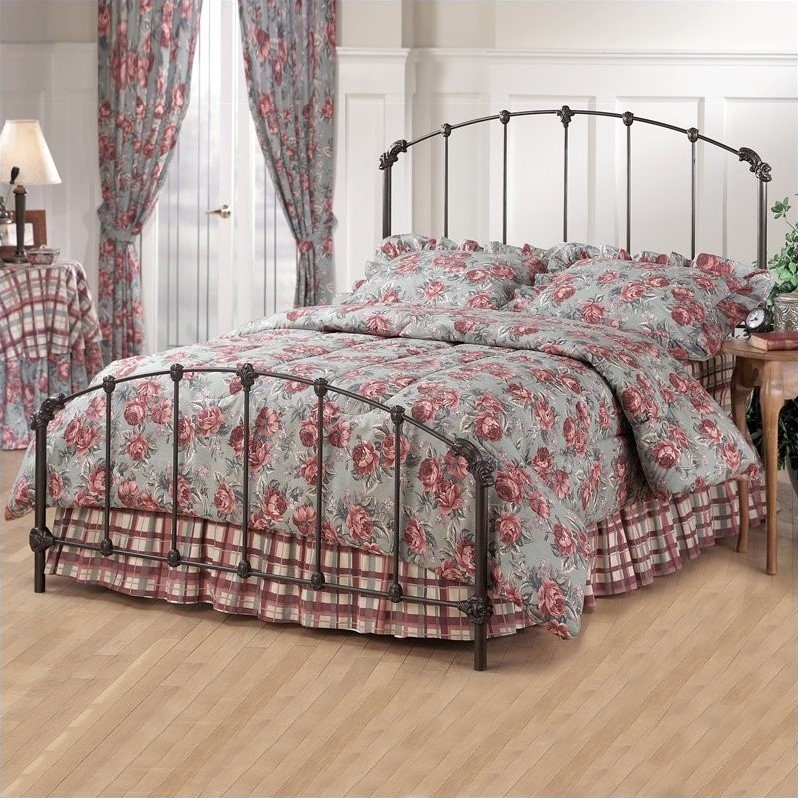 Hillsdale Bonita Metal Bed in Copper Mist Finish-Full