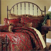 Hillsdale Tyler Metal Headboard in Antique Bronze