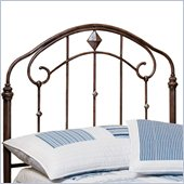 Hillsdale Tierra Mar Metal Headboard in Desert Tan