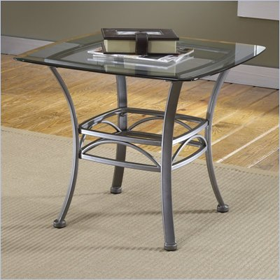 Hillsdale Abbington Glass End Table