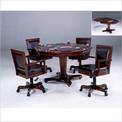 Hillsdale Ambassador Cherry 5 Piece Game Set
