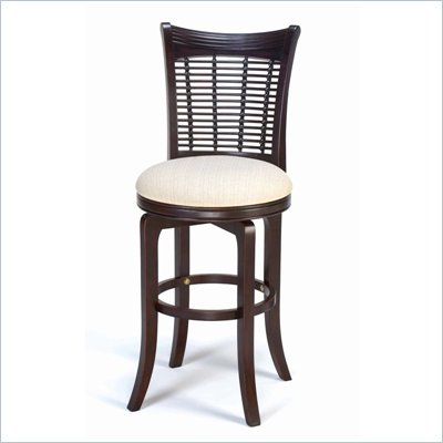Hillsdale Bayberry 24 Inch Counter Height Bar Stool in Dark Cherry