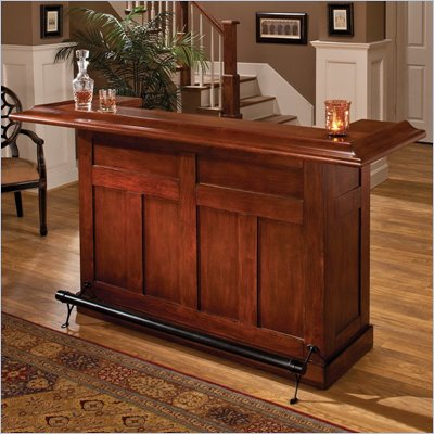 Hillsdale Classic Cherry Large Home Bar