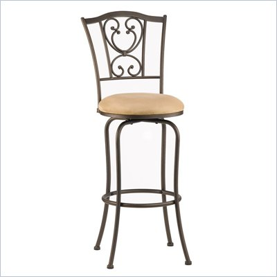 Hillsdale Concord 24'' Swivel Counter Stool