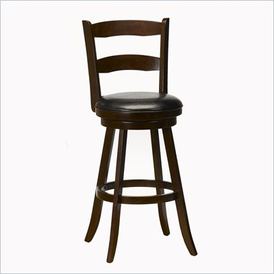 "Hillsdale Eastpointe 30.5"" Swivel Bar Stool in Cherry"