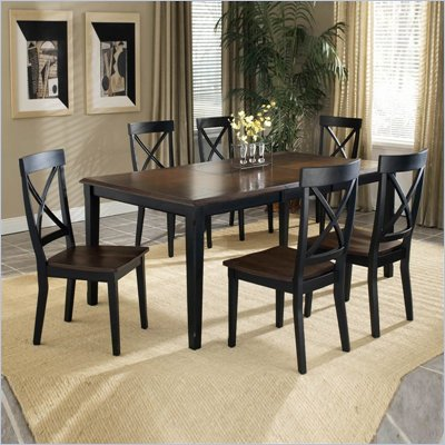 Hillsdale Englewood 7 Piece Dining Table Set