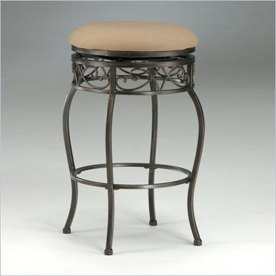 Hillsdale Lincoln 26 Inch Backless Swivel Counter Stool