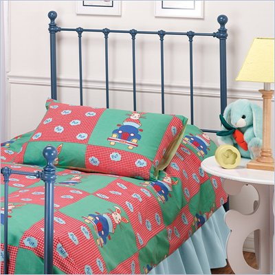 Hillsdale Molly Twin Metal Headboard in Blue