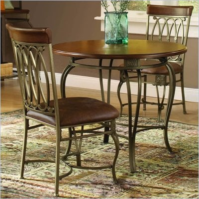 Hillsdale Montello 3 PC 36&quot; Round Dining Table Set
