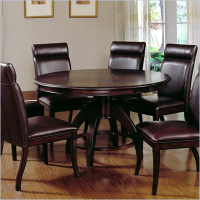 Hillsdale Nottingham Round Pedestal Dining Table
